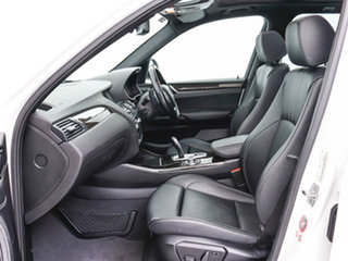 2015 BMW X3 F25 MY15 xDrive20d White 8 Speed Automatic Wagon