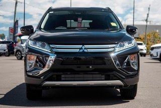 2020 Mitsubishi Eclipse Cross YA MY20 LS 2WD Black 8 Speed Constant Variable Wagon.