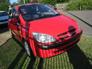 2005 Hyundai Getz TB Upgrade 1.6 Red 5 Speed Manual Hatchback