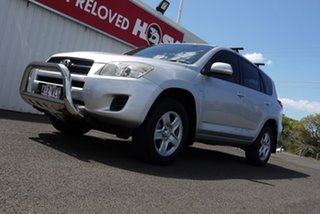 2011 Toyota RAV4 ACA33R MY11 CV Silver 4 Speed Automatic Wagon.