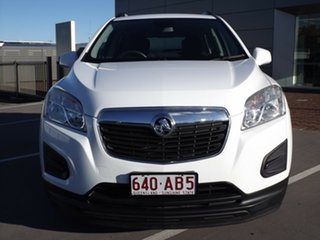 2014 Holden Trax TJ MY14 LS White 5 Speed Manual Wagon