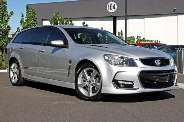 Used Holden Commodore VF II MY16 SS Sportwagon Essendon Fields, 2016 Holden Commodore VF II MY16 SS Sportwagon Silver 6 Speed Sports Automatic Wagon