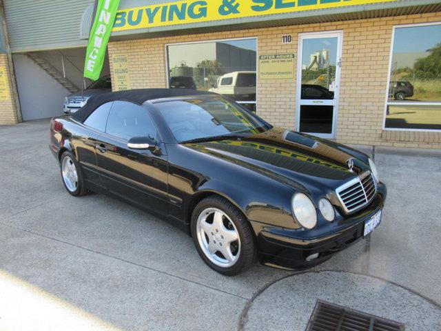 Used Mercedes-Benz CLK230 Kompressor A208 CLK230 Kompressor Avantgarde Mandurah, 2000 Mercedes-Benz CLK230 Kompressor A208 CLK230 Kompressor Avantgarde Black 5 Speed Automatic