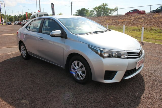 Pre-Owned Toyota Corolla ZRE172R Ascent S-CVT Darwin, 2015 Toyota Corolla ZRE172R Ascent S-CVT Silver Ash 7 Speed Constant Variable Sedan