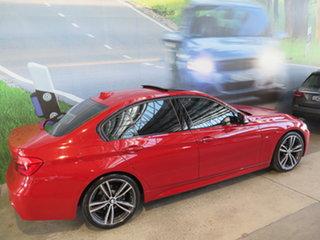 2017 BMW 330i F30 LCI M Sport  Warrior Red 8 Speed Automatic Sedan.