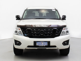 2019 Nissan Patrol Y62 Series 4 MY18 TI-L (4x4) White 7 Speed Automatic Wagon.
