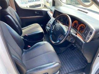 2005 Nissan Elgrand NE51 Highwaystar White Automatic Wagon