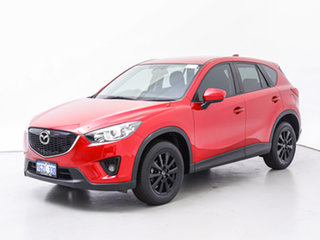 2014 Mazda CX-5 MY13 Upgrade Maxx Sport (4x2) Red 6 Speed Automatic Wagon.