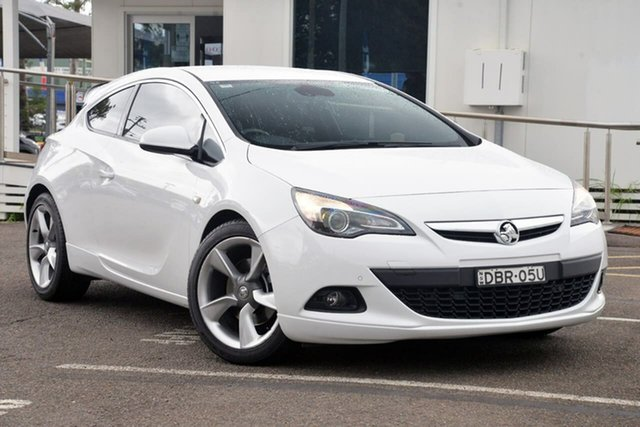 Used Holden Astra PJ MY15.5 GTC Sport, 2015 Holden Astra PJ MY15.5 GTC Sport White 6 Speed Automatic Hatchback