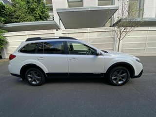 2014 Subaru Outback B5A MY14 2.0D Lineartronic AWD White 7 Speed Constant Variable Wagon.