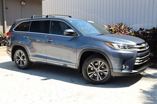 2017 Toyota Kluger GSU55R GX AWD Blue 8 Speed Sports Automatic Wagon.