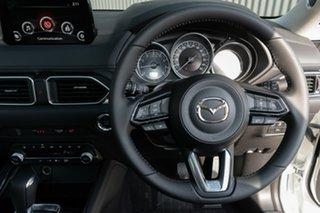 2020 Mazda CX-5 KF4WLA GT SKYACTIV-Drive i-ACTIV AWD Snowflake White Pearl 6 Speed Sports Automatic