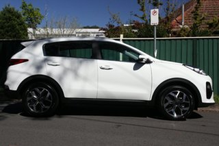 2020 Kia Sportage QL MY21 SX 2WD Clear White 6 Speed Sports Automatic Wagon