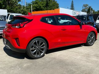 2019 Hyundai Veloster JS MY20 Coupe Red 6 Speed Automatic Hatchback