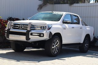 2017 Toyota Hilux GUN126R SR5 Double Cab White 6 Speed Manual Utility