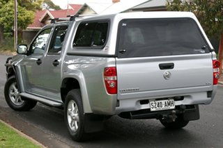 2011 Holden Colorado RC MY11 LX-R Crew Cab Silver 4 Speed Automatic Utility.