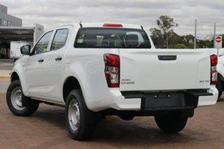 2020 Isuzu D-MAX TF MY21 SX (4x2) Mineral White 6 Speed Auto Seq Sportshift Crew Cab Utility.