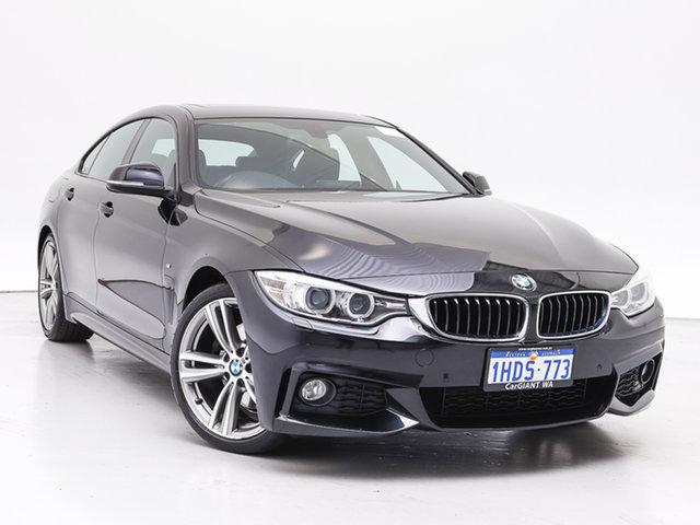 Used BMW 428i F36 MY15 Gran Coupe Modern Line, 2015 BMW 428i F36 MY15 Gran Coupe Modern Line Black 8 Speed Automatic Coupe