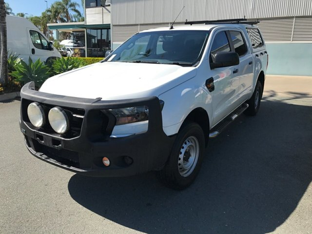 Used Ford Ranger PX MkII XL Hi-Rider Acacia Ridge, 2015 Ford Ranger PX MkII XL Hi-Rider White 6 speed Automatic Utility