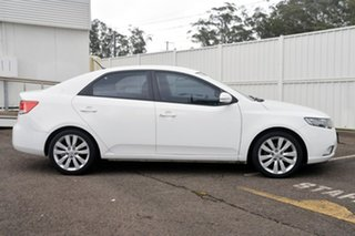 2012 Kia Cerato TD MY12 S White 6 Speed Sports Automatic Sedan.