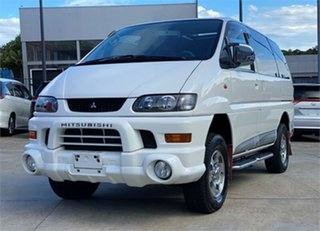 2003 Mitsubishi Delica PD6W Spacegear White Automatic Van Wagon.