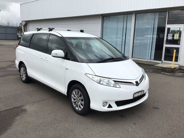 Used Toyota Tarago ACR50R MY13 GLi Cardiff, 2012 Toyota Tarago ACR50R MY13 GLi White 7 Speed Constant Variable Wagon