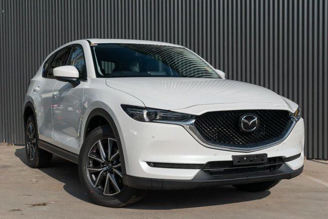 Demo Mazda CX-5 KF4WLA GT SKYACTIV-Drive i-ACTIV AWD Mornington, 2020 Mazda CX-5 KF4WLA GT SKYACTIV-Drive i-ACTIV AWD Snowflake White Pearl 6 Speed Sports Automatic