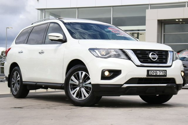 Used Nissan Pathfinder R52 Series II MY17 ST-L X-tronic 2WD, 2017 Nissan Pathfinder R52 Series II MY17 ST-L X-tronic 2WD Ivory Pearl 1 Speed Constant Variable