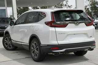 2020 Honda CR-V RW MY21 VTi FWD X Platinum White 1 Speed Constant Variable Wagon.