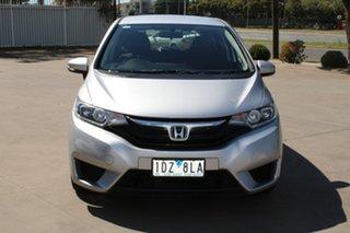 2015 Honda Jazz GK MY15 VTi Silver Continuous Variable Hatchback.