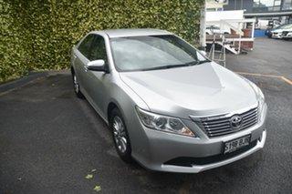 2014 Toyota Aurion GSV50R AT-X Silver 6 Speed Sports Automatic Sedan.