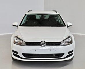 2017 Volkswagen Golf VII MY17 92TSI DSG Trendline White 7 Speed Sports Automatic Dual Clutch Wagon.