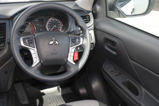 2020 Mitsubishi Triton MR MY20 GLX Double Cab White 6 Speed Sports Automatic Utility