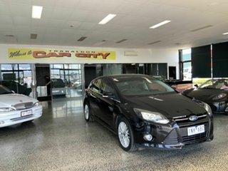 2011 Ford Focus LW Sport Black 5 Speed Manual Hatchback.