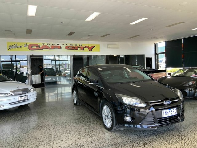 Used Ford Focus LW Sport Traralgon, 2011 Ford Focus LW Sport Black 5 Speed Manual Hatchback