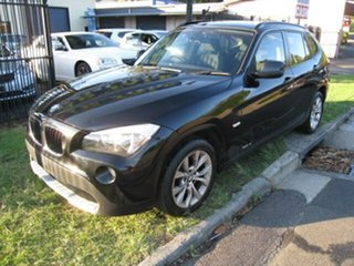 2011 BMW X1 E84 MY11 sDrive 18I Black 6 Speed Automatic Wagon