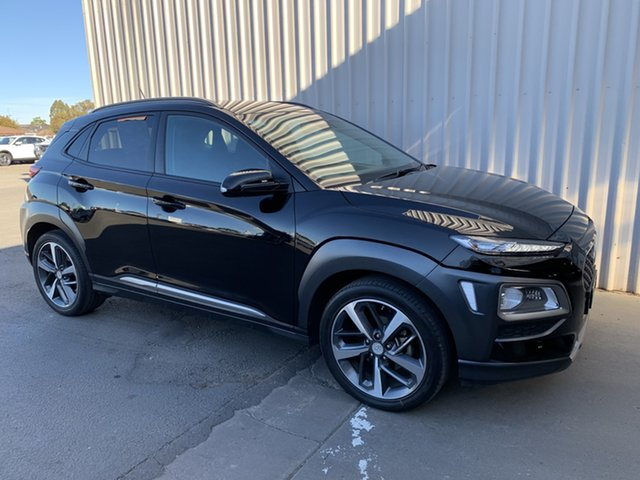 Used Hyundai Kona OS MY18 Highlander 2WD Horsham, 2017 Hyundai Kona OS MY18 Highlander 2WD 6 Speed Sports Automatic Wagon