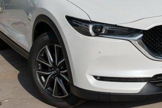 2020 Mazda CX-5 KF4WLA GT SKYACTIV-Drive i-ACTIV AWD Snowflake White Pearl 6 Speed Sports Automatic.