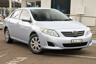 2009 Toyota Corolla ZRE152R Ascent Blue 4 Speed Automatic Sedan.
