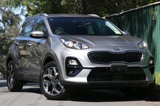 2021 Kia Sportage QL MY21 SX AWD Steel Grey 8 Speed Sports Automatic Wagon.