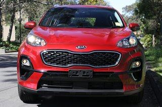 2020 Kia Sportage QL MY21 SX (FWD) Fiery Red 6 Speed Automatic Wagon