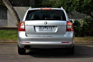 2009 Skoda Octavia 1Z MY09 1.8 TSI Silver 7 Speed Auto Direct Shift Liftback