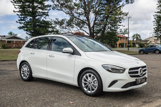 New Mercedes-Benz B-Class W247 800+050MY B180 DCT Port Macquarie, 2020 Mercedes-Benz B-Class W247 800+050MY B180 DCT Polar White 7 Speed Sports Automatic Dual Clutch