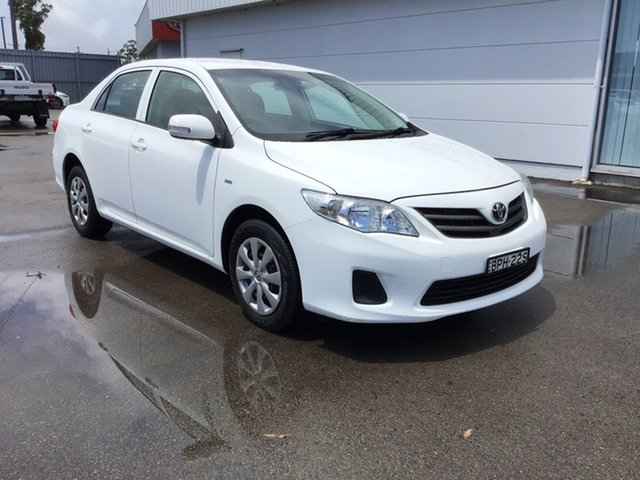 Used Toyota Corolla ZRE152R MY11 Ascent, 2010 Toyota Corolla ZRE152R MY11 Ascent White 4 Speed Automatic Sedan