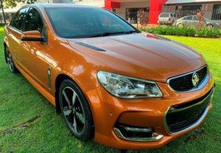 2017 Holden Commodore VF II MY17 SS Orange 6 Speed Sports Automatic Sedan.
