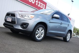2013 Mitsubishi ASX XB MY14 2WD Grey 5 Speed Manual Wagon.