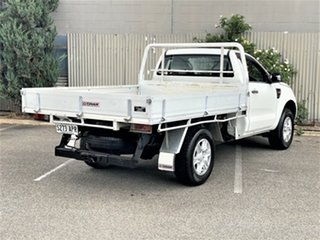 2011 Ford Ranger PX XL White 6 Speed Manual Cab Chassis.