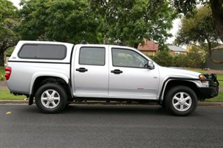 2011 Holden Colorado RC MY11 LX-R Crew Cab Silver 4 Speed Automatic Utility