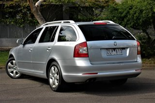 2009 Skoda Octavia 1Z MY09 1.8 TSI Silver 7 Speed Auto Direct Shift Liftback.