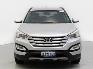 2014 Hyundai Santa Fe DM MY15 Active CRDi (4x4) Silver 6 Speed Automatic Wagon.